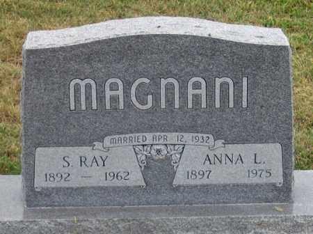 MAGNANI, SHERIDAN RAY - Dundy County, Nebraska   SHERIDAN RAY MAGNANI - Nebraska Gravestone Photos