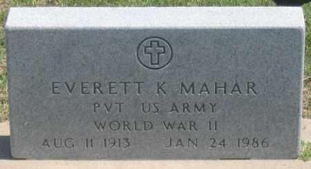 "MAHAR, EVERETT K. ""BABE"" - Dundy County, Nebraska | EVERETT K. ""BABE"" MAHAR - Nebraska Gravestone Photos"