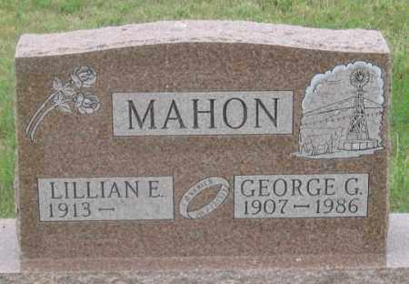 MAHON, LILLIAN E. - Dundy County, Nebraska | LILLIAN E. MAHON - Nebraska Gravestone Photos