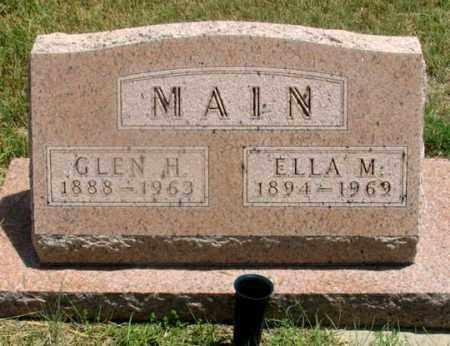 BRETHOWER MAIN, ELLA M. - Dundy County, Nebraska | ELLA M. BRETHOWER MAIN - Nebraska Gravestone Photos