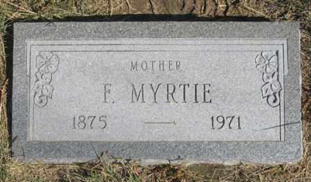 MALLORY, F. MYRTLE - Dundy County, Nebraska   F. MYRTLE MALLORY - Nebraska Gravestone Photos