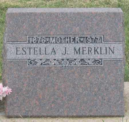 MERKLIN, ESTELLA JANE - Dundy County, Nebraska   ESTELLA JANE MERKLIN - Nebraska Gravestone Photos