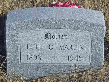 MCBRIDE MARTIN, LULU CAROLINE - Dundy County, Nebraska | LULU CAROLINE MCBRIDE MARTIN - Nebraska Gravestone Photos