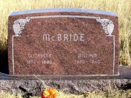MCBRIDE, WILLIAM - Dundy County, Nebraska | WILLIAM MCBRIDE - Nebraska Gravestone Photos
