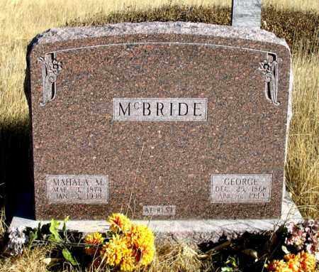 MCBRIDE, GEORGE - Dundy County, Nebraska | GEORGE MCBRIDE - Nebraska Gravestone Photos