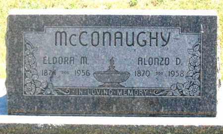 MCCONAUGHY, ALONZO D. - Dundy County, Nebraska   ALONZO D. MCCONAUGHY - Nebraska Gravestone Photos