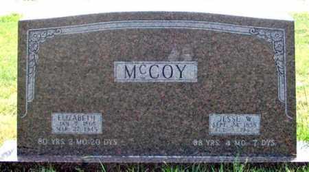 MCCOY, JESSE W. - Dundy County, Nebraska | JESSE W. MCCOY - Nebraska Gravestone Photos
