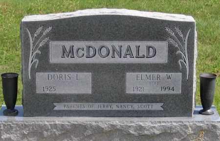 HEATER MCDONALD, DORIS - Dundy County, Nebraska | DORIS HEATER MCDONALD - Nebraska Gravestone Photos