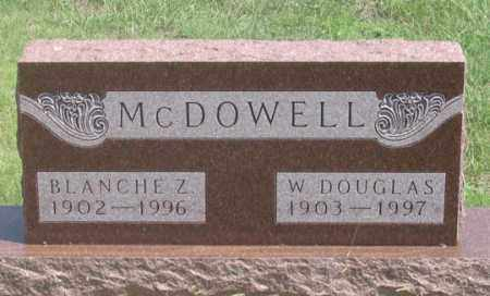 MOREHOUSE MCDOWELL, BLANCHE Z. - Dundy County, Nebraska | BLANCHE Z. MOREHOUSE MCDOWELL - Nebraska Gravestone Photos