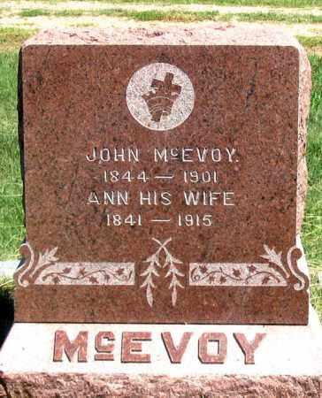 MORAN MCEVOY, ANN - Dundy County, Nebraska | ANN MORAN MCEVOY - Nebraska Gravestone Photos