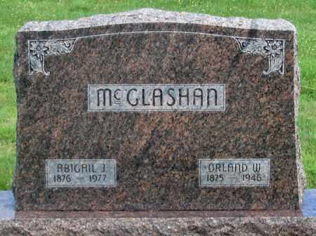 DUNHAM MCGLASHAN, ABIGAIL J. - Dundy County, Nebraska | ABIGAIL J. DUNHAM MCGLASHAN - Nebraska Gravestone Photos