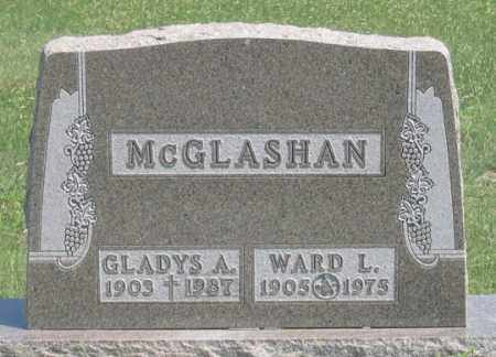 MCGLASHAN, WARD L. - Dundy County, Nebraska | WARD L. MCGLASHAN - Nebraska Gravestone Photos