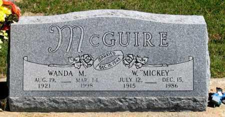 MCGUIRE, WANDA M. - Dundy County, Nebraska   WANDA M. MCGUIRE - Nebraska Gravestone Photos
