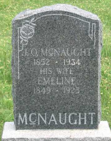 HENDLEN MCNAUGHT, EMELINE - Dundy County, Nebraska   EMELINE HENDLEN MCNAUGHT - Nebraska Gravestone Photos