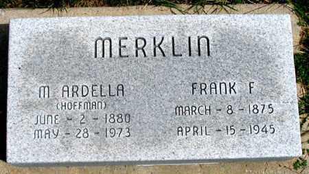 "MERKLIN, M. ARDELLA ""DELLA"" - Dundy County, Nebraska | M. ARDELLA ""DELLA"" MERKLIN - Nebraska Gravestone Photos"