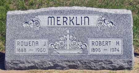 MERKLIN, ROBERT H. - Dundy County, Nebraska   ROBERT H. MERKLIN - Nebraska Gravestone Photos