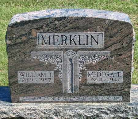 MERKLIN, MEDORA E. - Dundy County, Nebraska | MEDORA E. MERKLIN - Nebraska Gravestone Photos