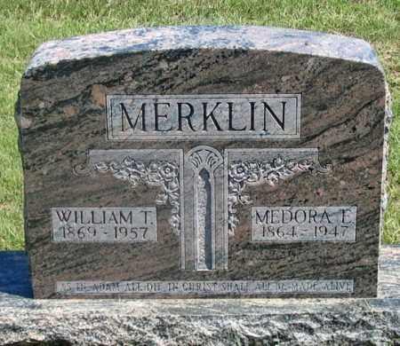 EDMONDS MERKLIN, MEDORA L. - Dundy County, Nebraska | MEDORA L. EDMONDS MERKLIN - Nebraska Gravestone Photos