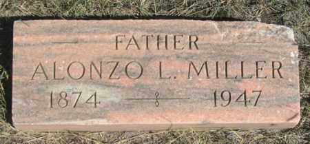 MILLER, ALONZO L. - Dundy County, Nebraska | ALONZO L. MILLER - Nebraska Gravestone Photos