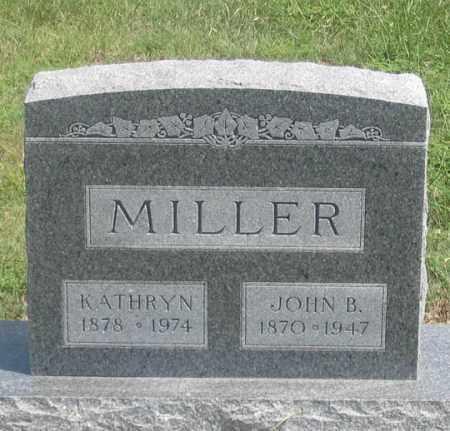 THIM MILLER, KATHRYN - Dundy County, Nebraska | KATHRYN THIM MILLER - Nebraska Gravestone Photos