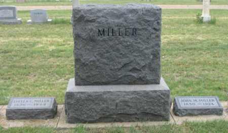 MILLER, JOHN M. - Dundy County, Nebraska | JOHN M. MILLER - Nebraska Gravestone Photos