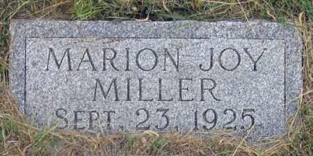 MILLER, MARION JOY - Dundy County, Nebraska | MARION JOY MILLER - Nebraska Gravestone Photos