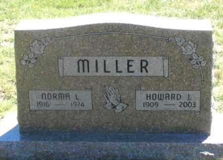 MILLER, NORMA L. - Dundy County, Nebraska | NORMA L. MILLER - Nebraska Gravestone Photos