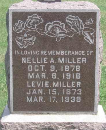 MILLER, NELLIE A. - Dundy County, Nebraska | NELLIE A. MILLER - Nebraska Gravestone Photos