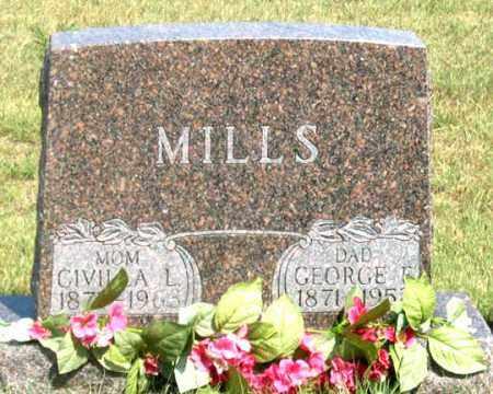 MILLS, GEORGE F. - Dundy County, Nebraska | GEORGE F. MILLS - Nebraska Gravestone Photos
