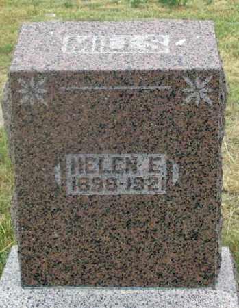 WHITE MILLS, HELEN E. - Dundy County, Nebraska | HELEN E. WHITE MILLS - Nebraska Gravestone Photos