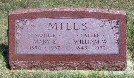 MILLS, MARY E. - Dundy County, Nebraska | MARY E. MILLS - Nebraska Gravestone Photos