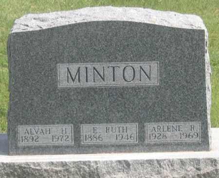 MINTON, RUTH ARLENE (DAUGHTER) - Dundy County, Nebraska | RUTH ARLENE (DAUGHTER) MINTON - Nebraska Gravestone Photos