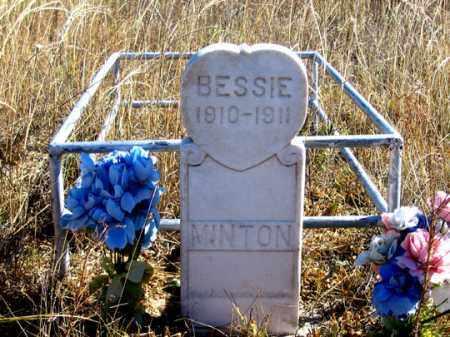 MINTON, BESSIE - Dundy County, Nebraska | BESSIE MINTON - Nebraska Gravestone Photos