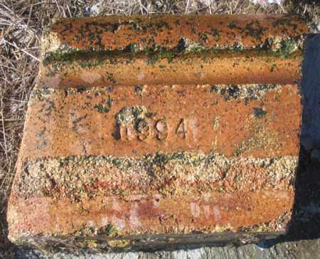 MINTON, MARKER OLD SIDE - Dundy County, Nebraska | MARKER OLD SIDE MINTON - Nebraska Gravestone Photos