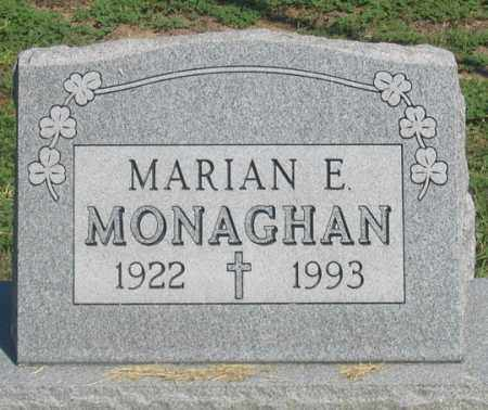 MONAGHAN, MARIAN E. - Dundy County, Nebraska | MARIAN E. MONAGHAN - Nebraska Gravestone Photos