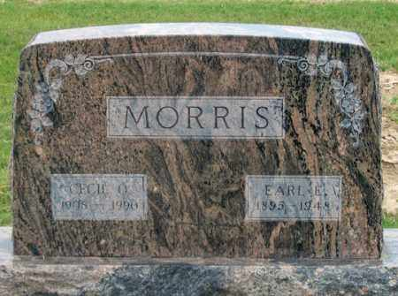 MORRIS, CECIL O. - Dundy County, Nebraska | CECIL O. MORRIS - Nebraska Gravestone Photos