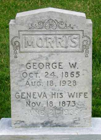 OXIER MORRIS, GENEVA - Dundy County, Nebraska | GENEVA OXIER MORRIS - Nebraska Gravestone Photos