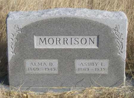 MORRISON, ASHBY L. - Dundy County, Nebraska | ASHBY L. MORRISON - Nebraska Gravestone Photos