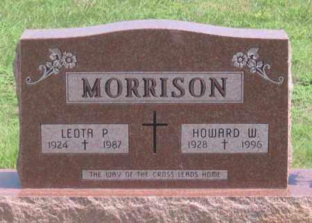 MORRISON, LEOTA P. - Dundy County, Nebraska | LEOTA P. MORRISON - Nebraska Gravestone Photos