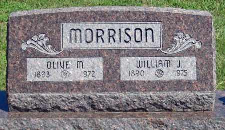 RICHARD MORRISON, OLIVE MAE - Dundy County, Nebraska   OLIVE MAE RICHARD MORRISON - Nebraska Gravestone Photos