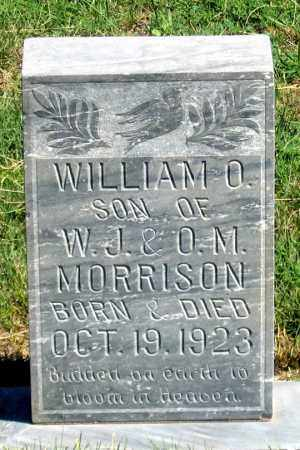 MORRISON, WILLIAM O. - Dundy County, Nebraska | WILLIAM O. MORRISON - Nebraska Gravestone Photos