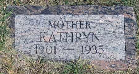 BUTHERUS MOSIER, KATHRYN (KATHERINE M.?) - Dundy County, Nebraska | KATHRYN (KATHERINE M.?) BUTHERUS MOSIER - Nebraska Gravestone Photos