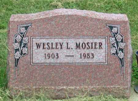 MOSIER, WESLEY L. - Dundy County, Nebraska | WESLEY L. MOSIER - Nebraska Gravestone Photos