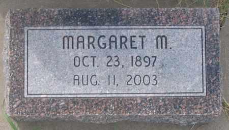 MOSSBURGH, MARGARET M. - Dundy County, Nebraska | MARGARET M. MOSSBURGH - Nebraska Gravestone Photos