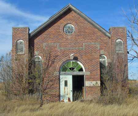 *MT. ZION CHURCH, FRONT - Dundy County, Nebraska | FRONT *MT. ZION CHURCH - Nebraska Gravestone Photos