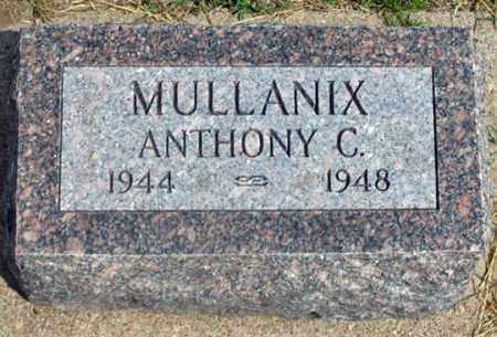 MULLANIX, ANTHONY C. - Dundy County, Nebraska | ANTHONY C. MULLANIX - Nebraska Gravestone Photos