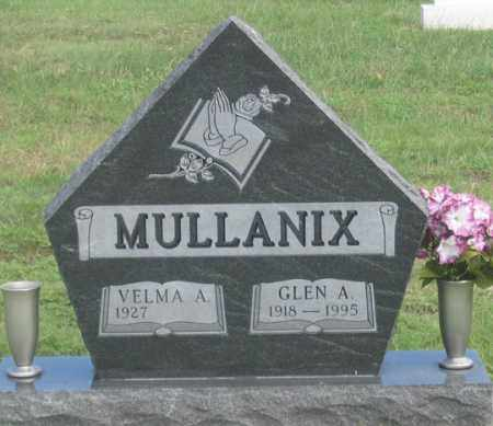 GUNDERMAN MULLANIX, VELMA A. - Dundy County, Nebraska | VELMA A. GUNDERMAN MULLANIX - Nebraska Gravestone Photos