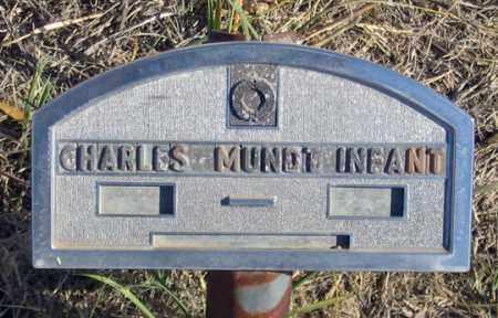 MUNDT, CHARLES  INFANT - Dundy County, Nebraska | CHARLES  INFANT MUNDT - Nebraska Gravestone Photos
