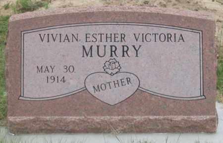 MURRY, VIVIAN ESTHER VICTORIA - Dundy County, Nebraska | VIVIAN ESTHER VICTORIA MURRY - Nebraska Gravestone Photos