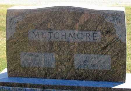 MUTCHMORE, FRANK - Dundy County, Nebraska | FRANK MUTCHMORE - Nebraska Gravestone Photos